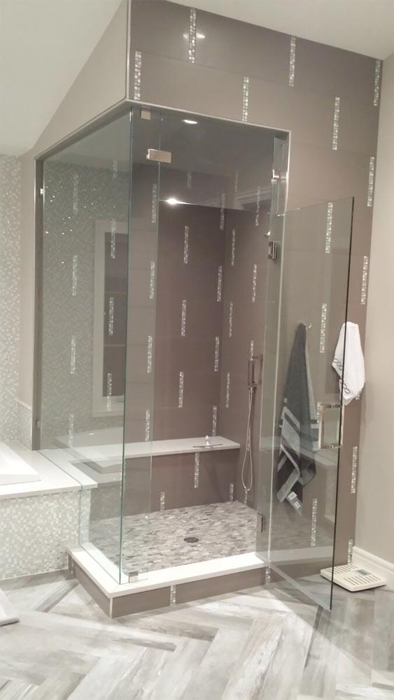 Petersen Custom Glass   Shower and Glass Install  Parker, CO