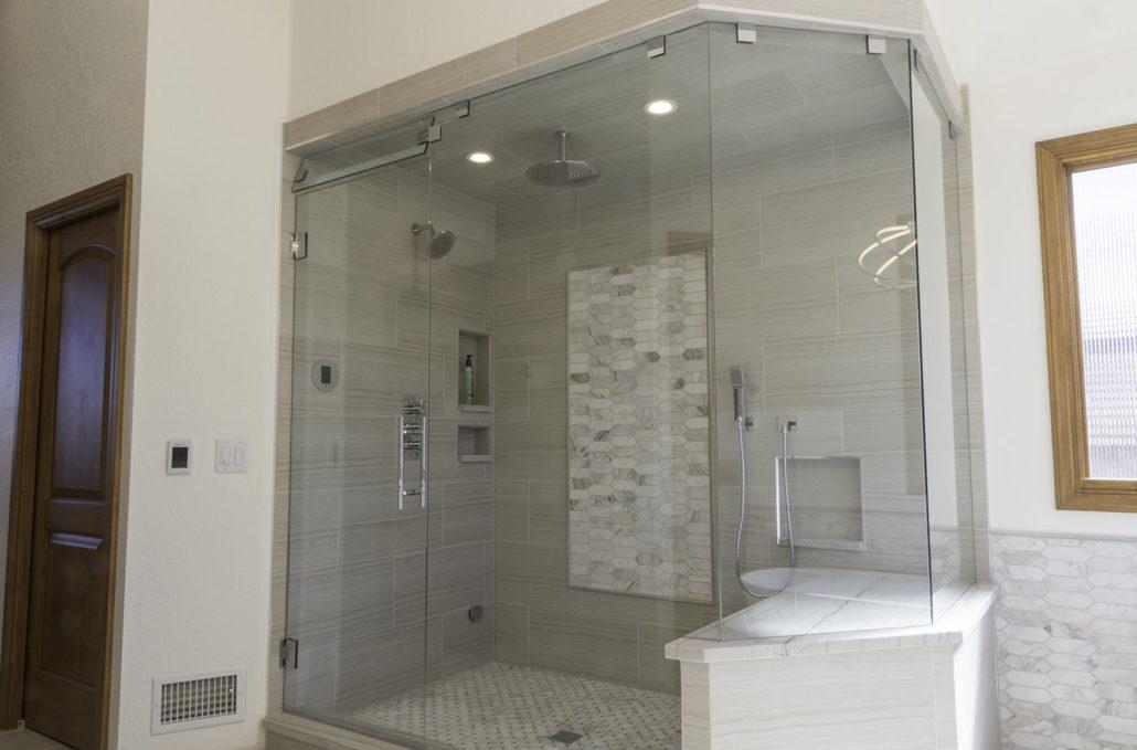 Petersen Custom Glass Shower And, Custom Bathroom Showers