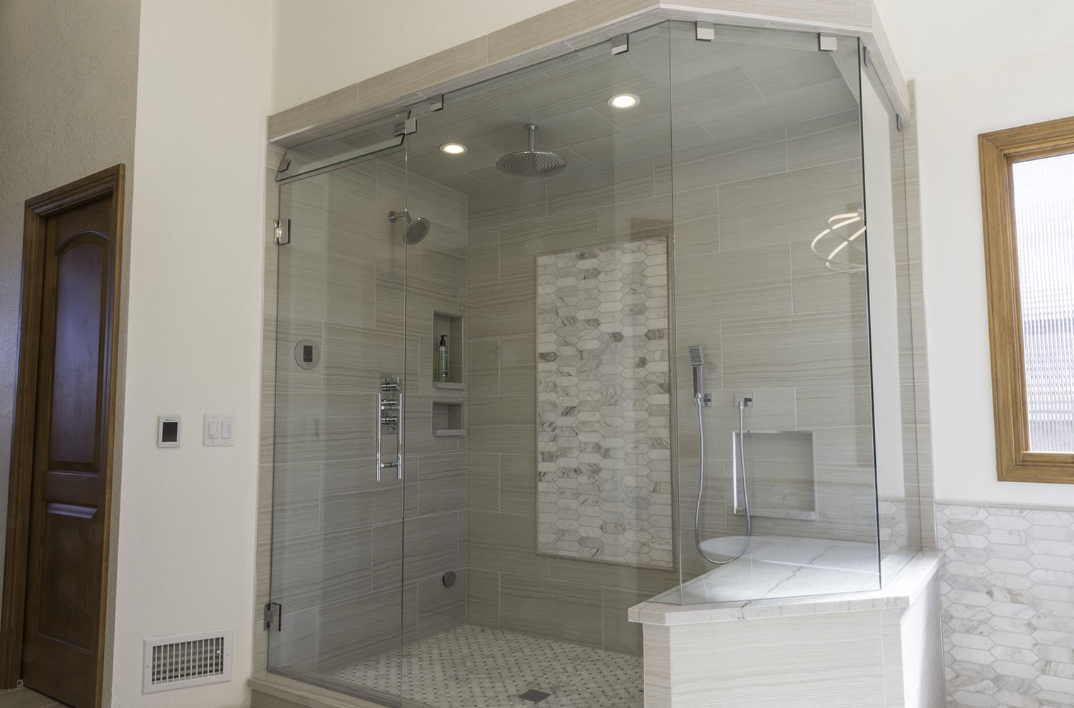 Petersen Custom Glass Shower And Glass Install Parker Co